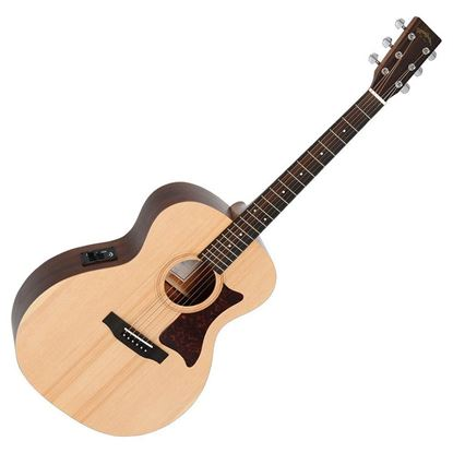 Sigma GME Grand Auditorium Acoustic Guitar with Pickup - Natural