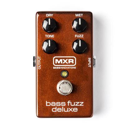 MXR Bass Fuzz Deluxe Bass Guitar Effects Pedal
