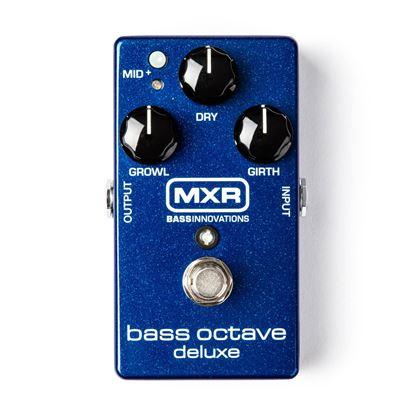 MXR Bass Octave Deluxe Bass Guitar Effects Pedal