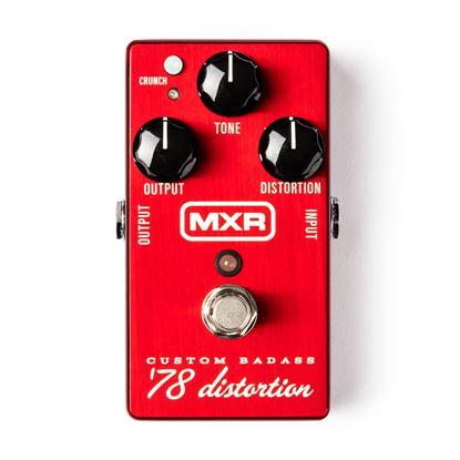 MXR Custom Badass '78 Distortion Guitar Effects Pedal