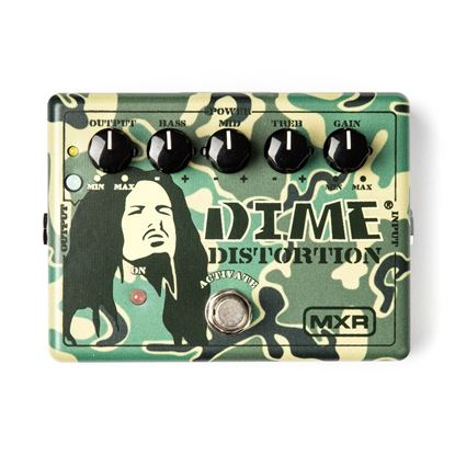 MXR Pedal Dime Distortion Guitar Effects Pedal