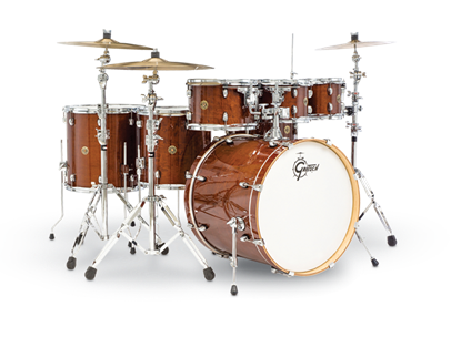 Gretsch E826P CM7 Catalina Maple 7 Piece 22 Inch Drum Kit with Hardware Pack (Select Finish)
