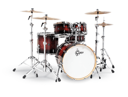 Gretsch RN2 E825 Renown Series Lacquer 5 Piece 22 Inch Maple Shell Pack Drum Kit (Select Finish)