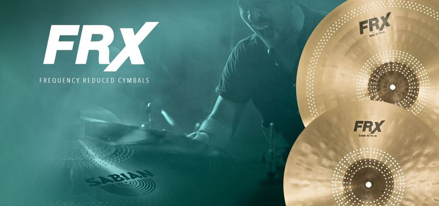 Sabian FRX Frequency Reduced Cymbals