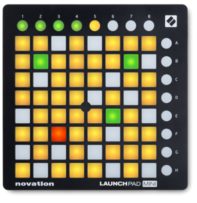 Novation Launchpad Mini - Mini Ableton Live Grid Controller