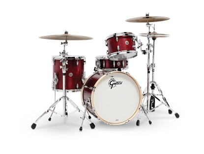 Gretsch BR4 E404 Brooklyn Series 4 Piece 20 Inch Maple Poplar Shell Pack Drum Kit (Select Satin Lacquer Finish)