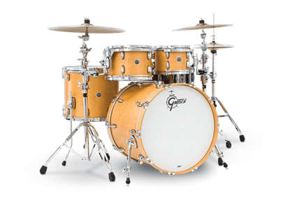 Gretsch BR5 E8256 Brooklyn Series 5 Piece 22 Inch Maple Poplar Shell Pack Drum Kit (Select Satin Lacquer Finish)