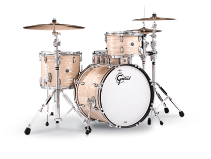 Gretsch BR4 E404 Brooklyn Series 4 Piece 20 Inch Maple Poplar Shell Pack Drum Kit (Select Nitron Wrap Finish)