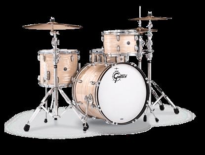 Gretsch BR4 E404 Brooklyn Series 4 Piece 20 Inch Maple Poplar Shell Pack Drum Kit (Select Nitron Wrap Finish)