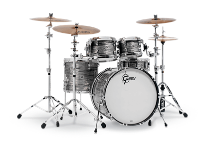 Gretsch BR5 E8256 Brooklyn Series 5 Piece 22 Inch Maple Poplar Shell Pack Drum Kit (Select Nitron Wrap Finish)