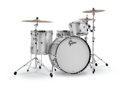 Gretsch BR4 RC444 Brooklyn Series 4 Piece 24 Inch Maple Poplar Shell Pack Drum Kit (Select Nitron Wrap Finish)