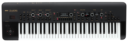 Korg KingKORG 61-Key Analogue Modeling Synthesizer w Vocoder Black