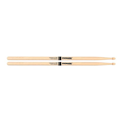 Promark Forward 7A Drumsticks - Hickory Acorn Wood Tip