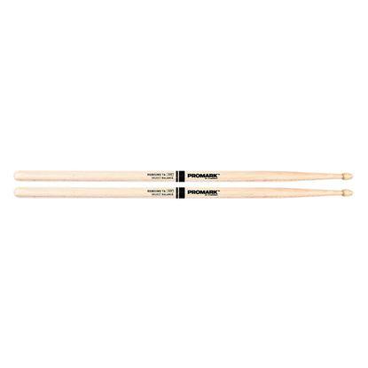 Promark Rebound 7A Drumsticks - Hickory Acorn Wood Tip