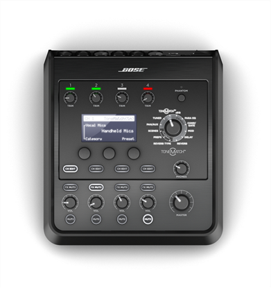Bose T4S Tonematch Audio Engine Digital Mixer for Bose L1 and F1 PA Systems