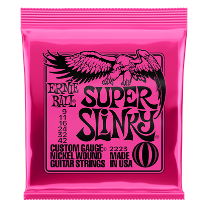 Ernie Ball 2223 Super Slinky Nickel Wound Electric Guitar Strings