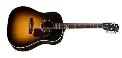 Gibson 2018 J-45 Standard Acoustic Guitar Vintage Sunburst (J45)