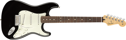 Fender Player Stratocaster Electric Guitar PF Black front