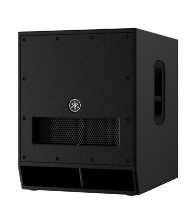 Yamaha DXS15MKII 15 inch Powered PA Subwoofer (1020 Watt) Front View