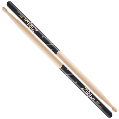 Zildjian 2B Wood Tip Black Dip Drumsticks