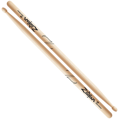 Zildjian 2B Wood Tip Natural Drumsticks