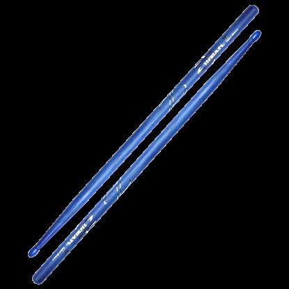 Zildjian 5A Nylon Tip Blue Drumsticks