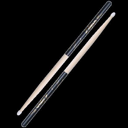 Zildjian 5A Nylon Tip Black Dip Drumsticks