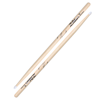 Zildjian 5A Nylon Tip Natural Drumsticks