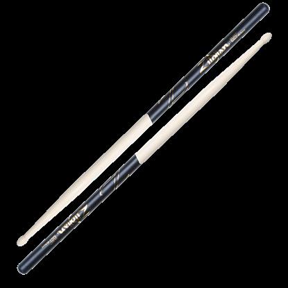 Zildjian 5A Wood Tip Black Dip Drumsticks
