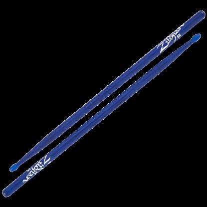 Zildjian 5B Nylon Tip Blue Drumsticks