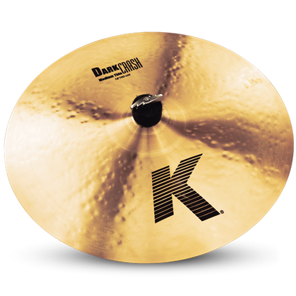 Zildjian 16 Inch K Dark Crash Cymbal Medium Thin