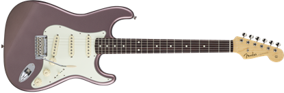 Fender Made in Japan Hybrid '60s Stratocaster Electric Guitar - Burgundy Mist