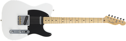 Fender Made in Japan Hybrid '50s Telecaster Electric Guitar - Arctic White