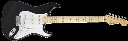 Fender Made in Japan Hybrid '50s Stratocaster Electric Guitar - Black