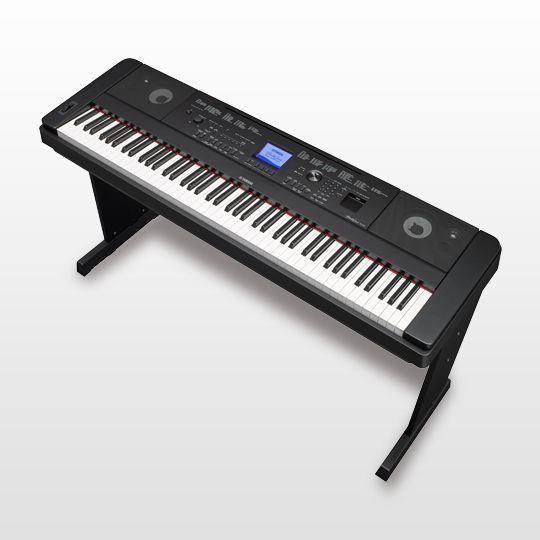 yamaha dgx 660 digital grand piano black dgx660 perth mega music online. Black Bedroom Furniture Sets. Home Design Ideas