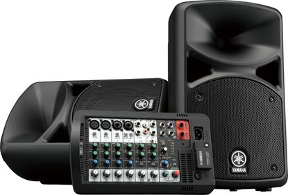 Yamaha STAGEPAS400BT All-In-One Portable PA System With Bluetooth (400 Watt)