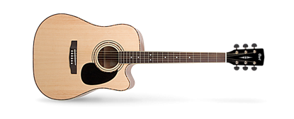 Cort AD880CE Dreadnought Cutaway Acoustic Guitar - Natural