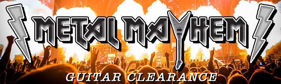 Metal Mayhem Guitar Clearance