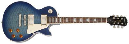 Epiphone Limited Edition Les Paul Quilt Top Pro Electric Guitar - Translucent Blue