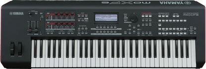 Yamaha MOXF6  Workstation Synthesizer (61 Key) Top View