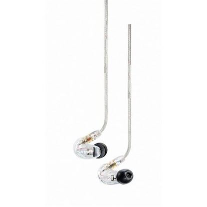 Shure SE215 Sound Isolating In-Ear Monitors (Clear)
