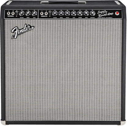 Fender '65 Super Reverb Combo Guitar Amplifier - Front