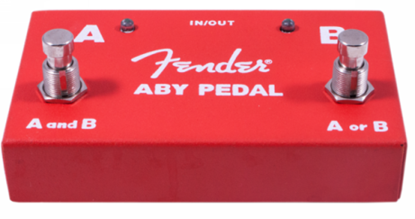 Fender ABY Footswitch Guitar Effects Pedal