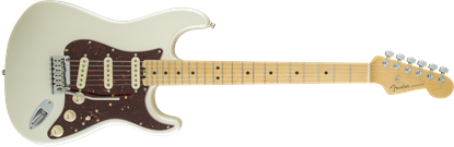 Fender American Elite Stratocaster Electric Guitar - Maple Neck - Olympic Pearl