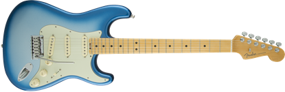 Fender American Elite Stratocaster Electric Guitar - Maple Neck - Sky Burst Metallic