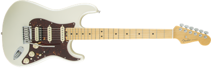 Fender American Elite Stratocaster HSS Shawbucker Electric Guitar - Maple Neck - Olympic White