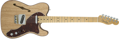 Fender American Elite Telecaster Thinline Electric Guitar - Maple Neck - Natural
