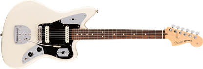 Fender American Professional Jaguar Electric Guitar - Rosewood Fretboard - Olympic White