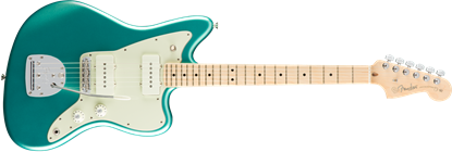 Fender American Professional Jazzmaster Electric Guitar - Maple Neck - Mystic Seafoam