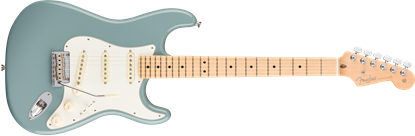 Fender American Professional Stratocaster Electric Guitar - Maple Neck - Sonic Gray